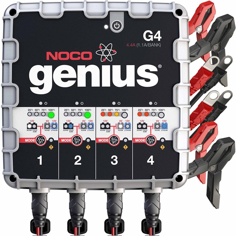 NOCO Genius 4 bank charger